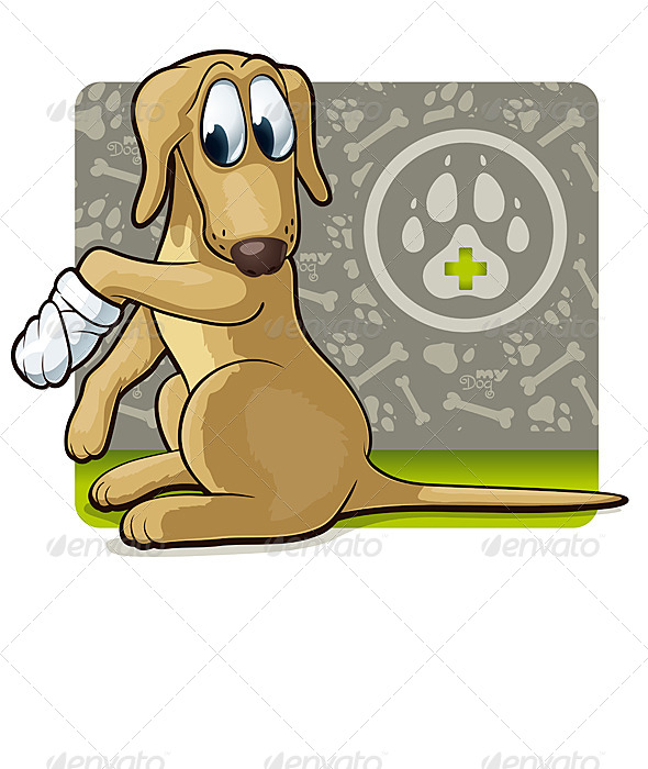 GraphicRiver Dog at the Doctor s 6671566
