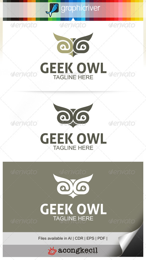 GraphicRiver Geek Owl 6671568