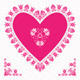Valentine's Day Card with Flower Hearts - GraphicRiver Item for Sale