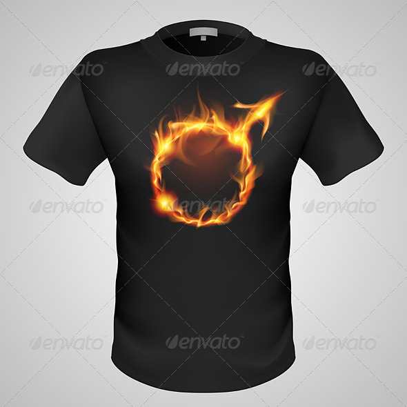 GraphicRiver Male T-Shirt with Print 6671871