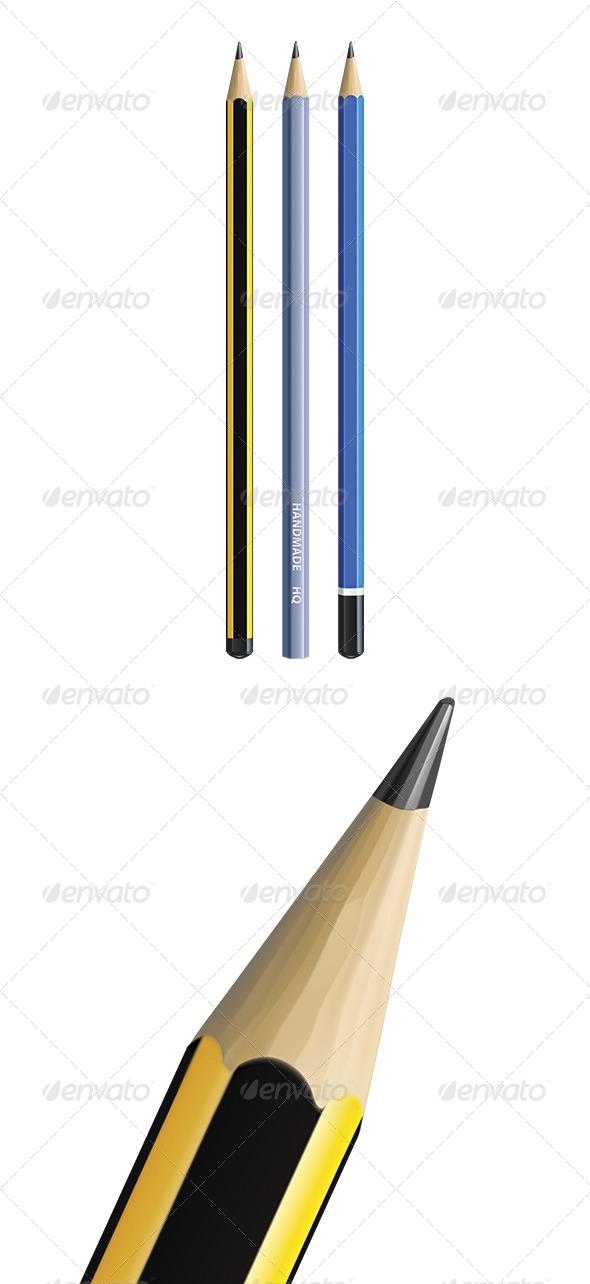 GraphicRiver Pencils 6672207