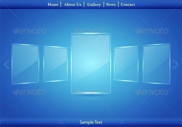 GraphicRiver Glass Picture Gallery 6520894