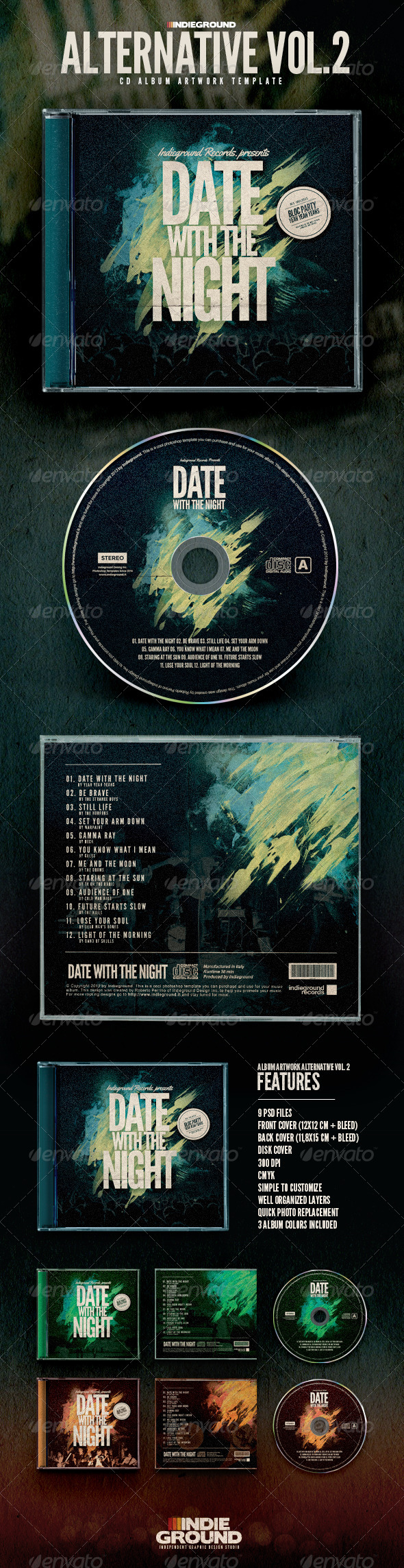 GraphicRiver Alternative CD Album Artwork Vol 2 6672285