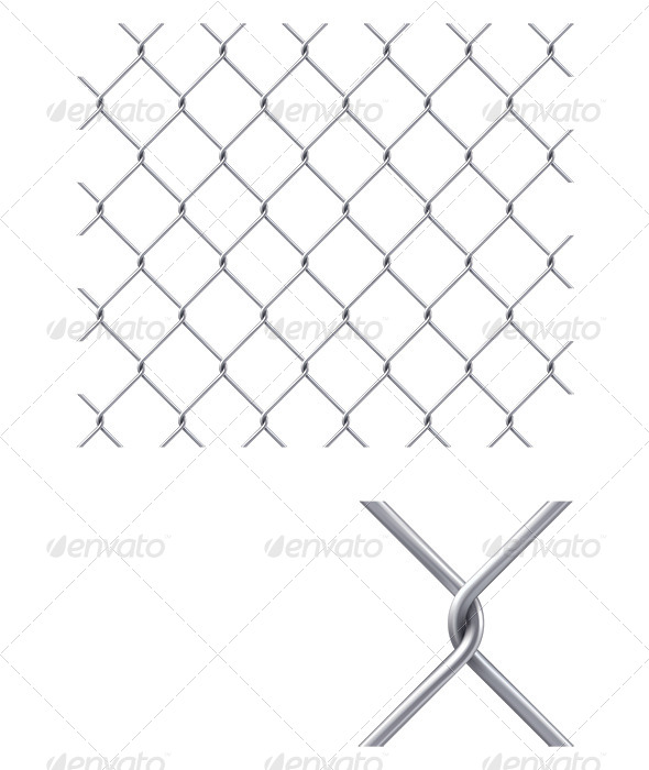 GraphicRiver Chain Fence 6672314