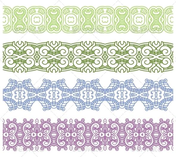 GraphicRiver Ornamental Seamless Pattern 6672329