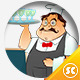 Chef Restaurant Mascot Ver. 2.5 - GraphicRiver Item for Sale