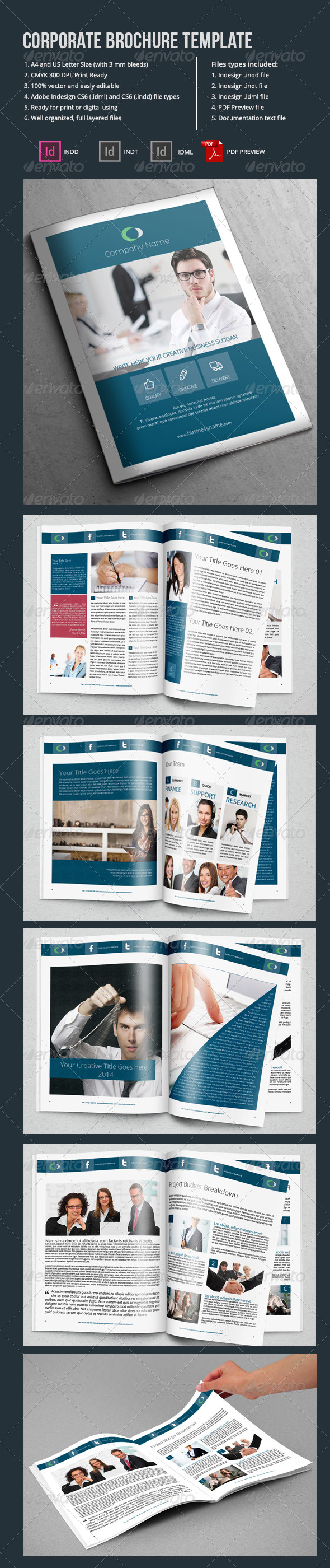 GraphicRiver Corporate Brochure Template-12 Pages 6672507