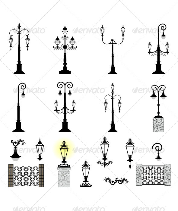 GraphicRiver Street Lights 6672717