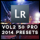 50 Pro Presets 2014 Edition Vol 2 - GraphicRiver Item for Sale