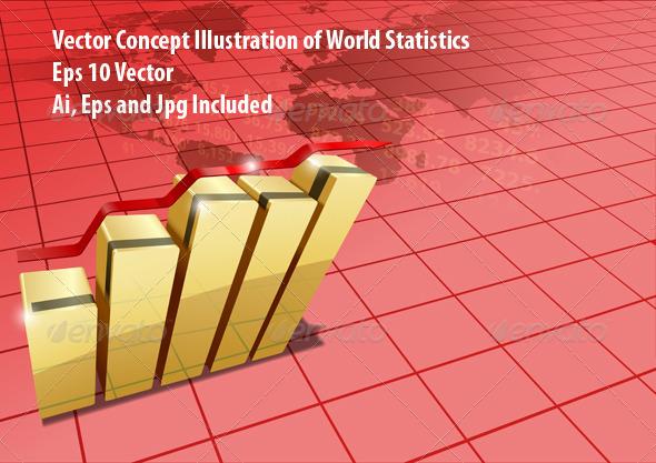GraphicRiver World Statistic 6673090