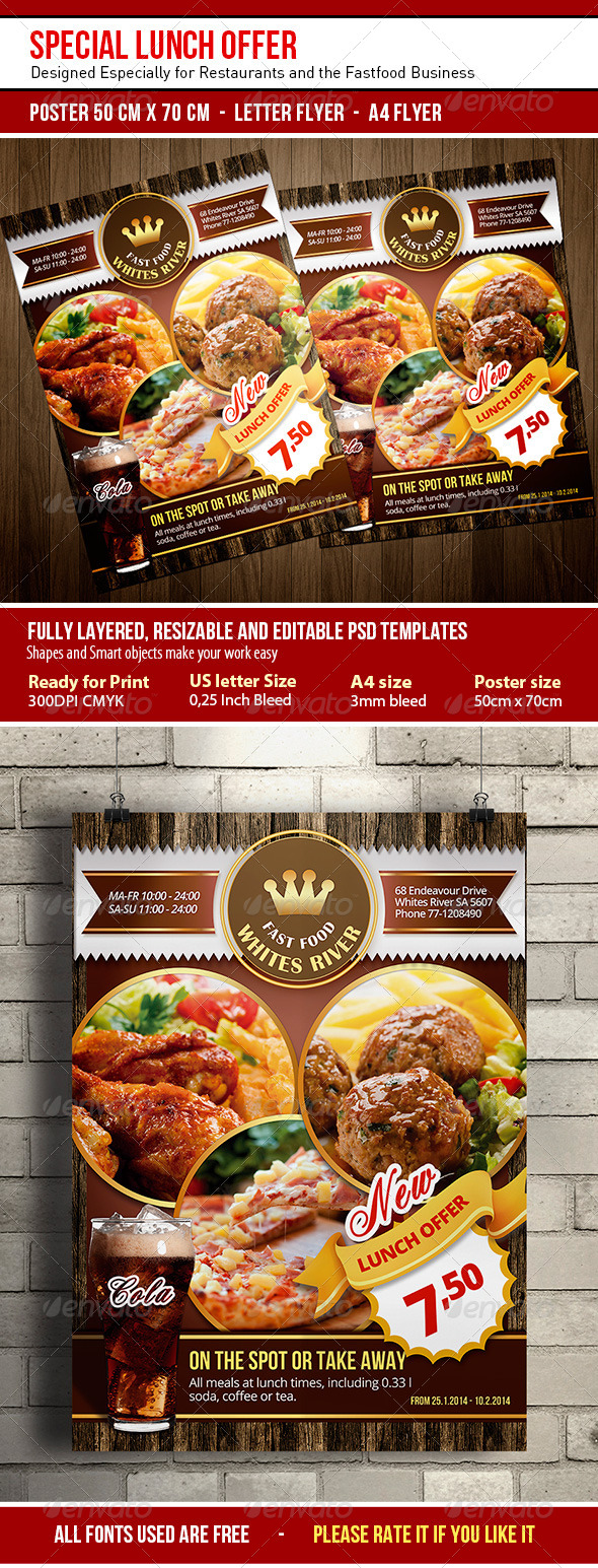 GraphicRiver Special Lunch Offer 6671054