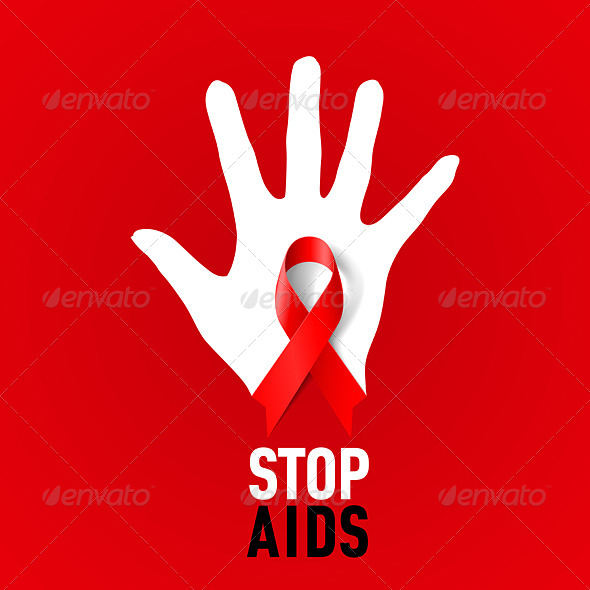 GraphicRiver Stop AIDS Sign 6673110