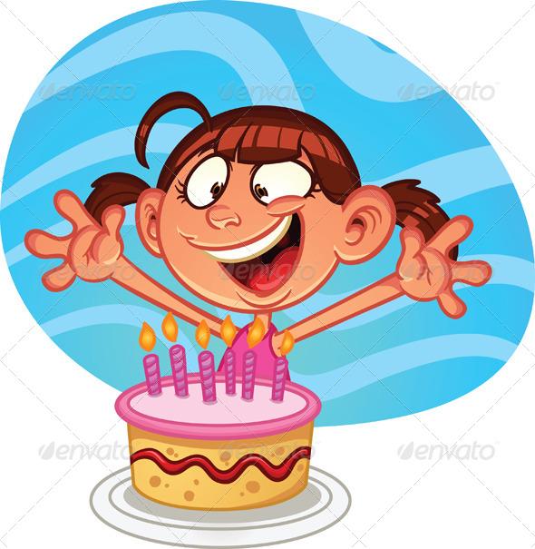 GraphicRiver Birthday Girl 6673291