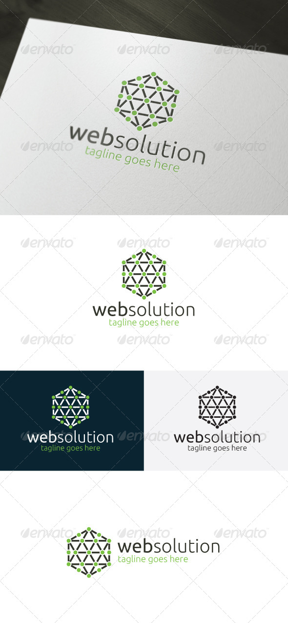 GraphicRiver Web Solution Logo 6673437