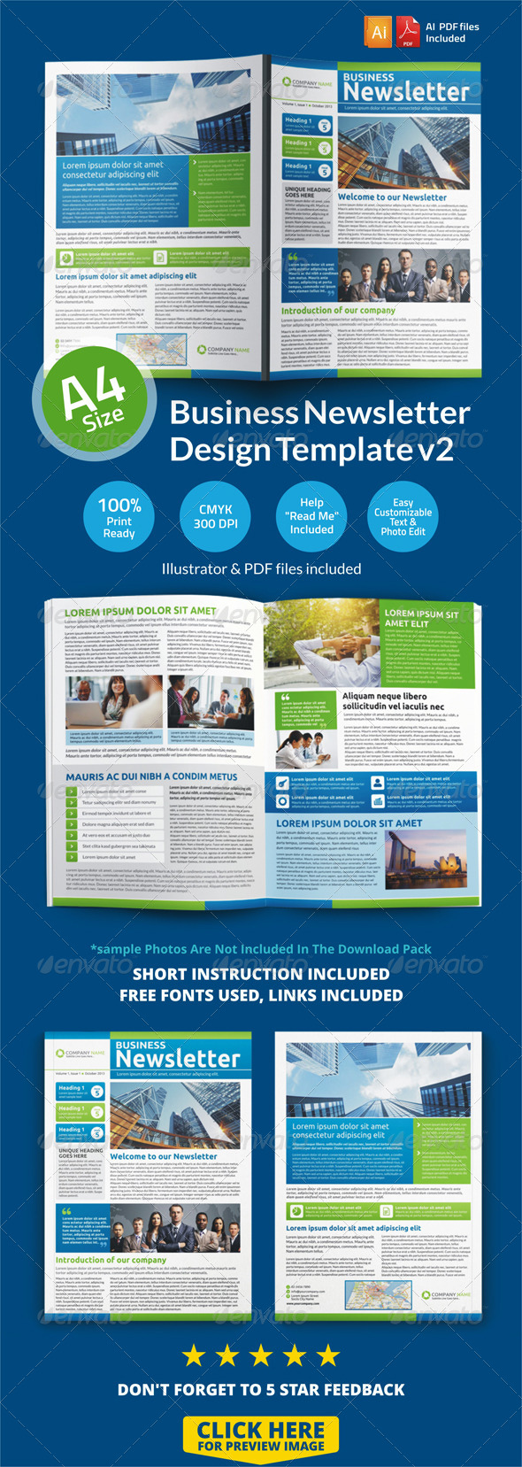 GraphicRiver Newsletter Design Template v2 6674095