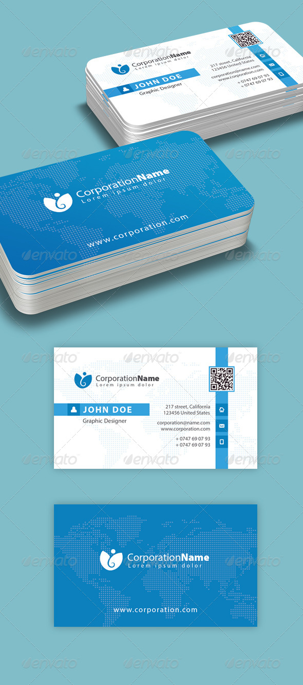 GraphicRiver Corporate Business Card 2 6674127