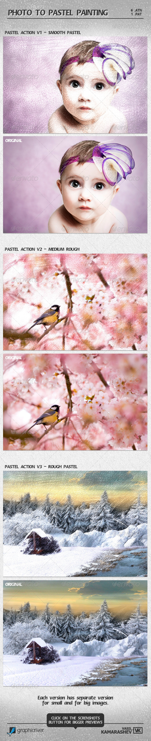 04 photoshop action biến hình ảnh thành nét vẽ chì