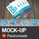 Trifold Mock-Up - GraphicRiver Item for Sale