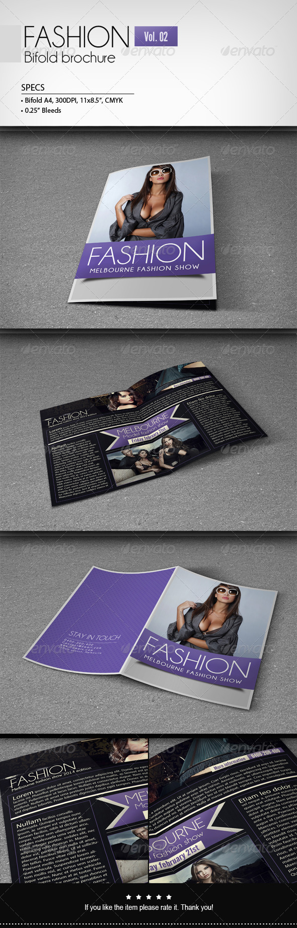 GraphicRiver Fashion Bifold Brochure [Vol.2] 6673289