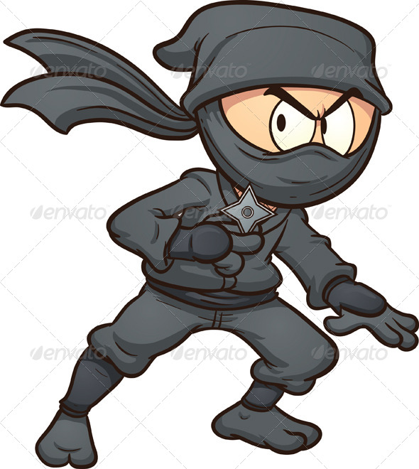 GraphicRiver Cartoon Ninja 6674595
