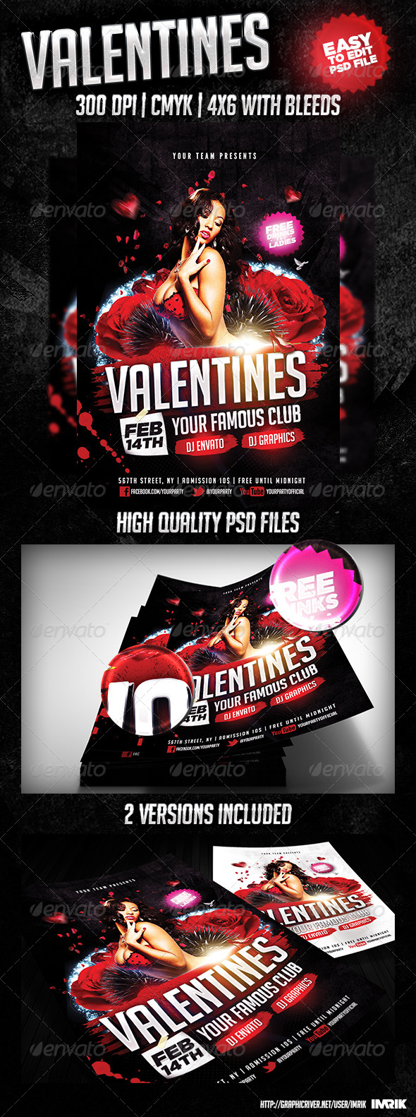 GraphicRiver Valentines Flyer 2014 6674808