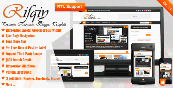 Download Template Rifqiy Responsive Gratis