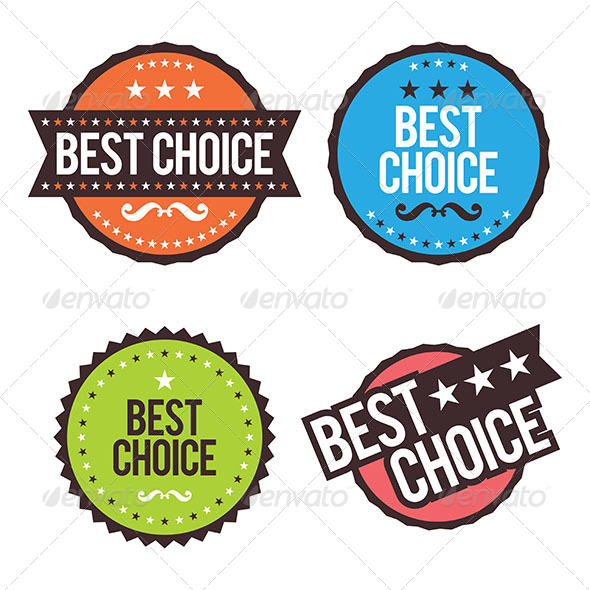 GraphicRiver Best Choice Badges 6674839