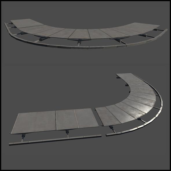3DOcean Metal Platform 6674862