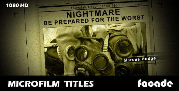 Microfilm Titles (Titles)