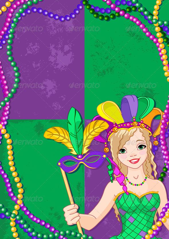 GraphicRiver Mardi Gras Banner 6675255
