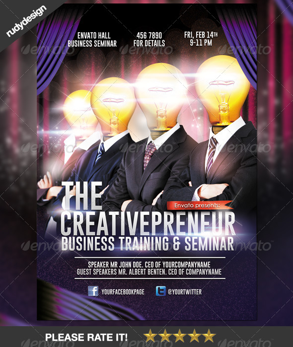 GraphicRiver Creative Professional Business Flyer Design 6675419