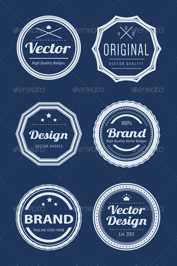 GraphicRiver Vintage Logo Badges 6675623