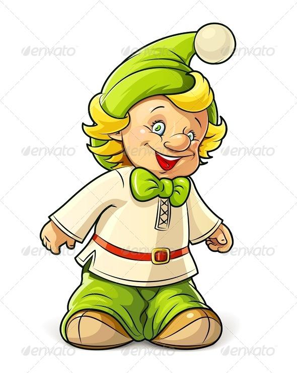 GraphicRiver Little Gnome Boy 6675978