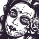 Day of the Dead Girl - GraphicRiver Item for Sale