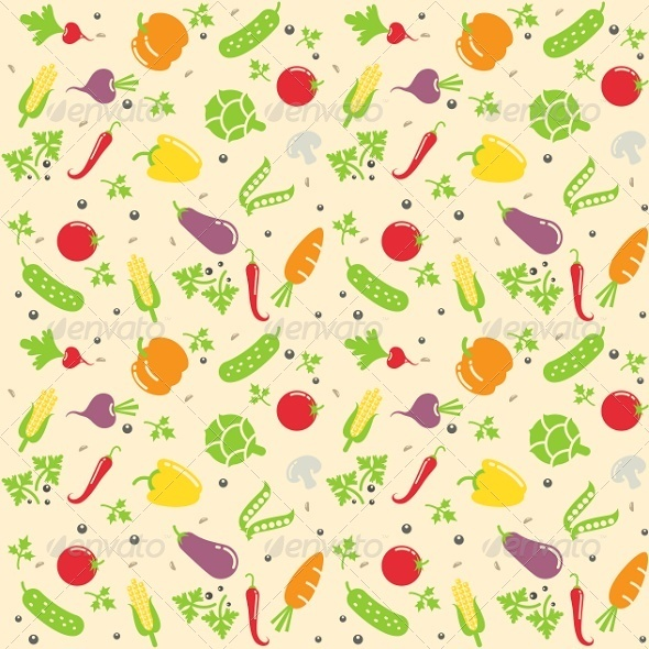GraphicRiver Seamless Vegetable Texture 6675990