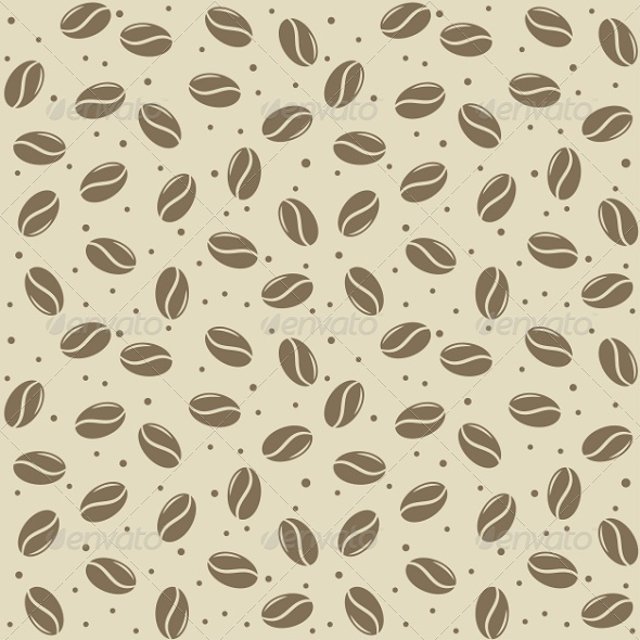 GraphicRiver Seamless Coffee Seed Texture 6676011