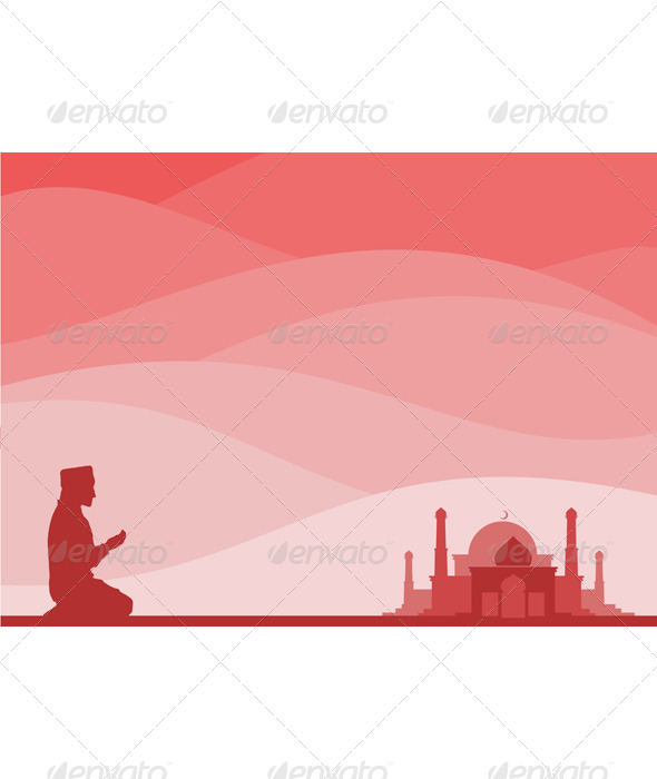 GraphicRiver Muslim Praying 6676106