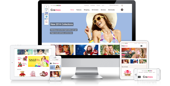 ZT Cramos ecommerce responsive joomla template
