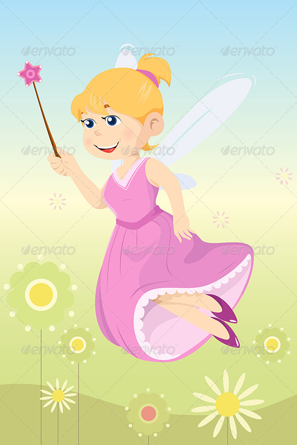 GraphicRiver Fairy Girl 6676173