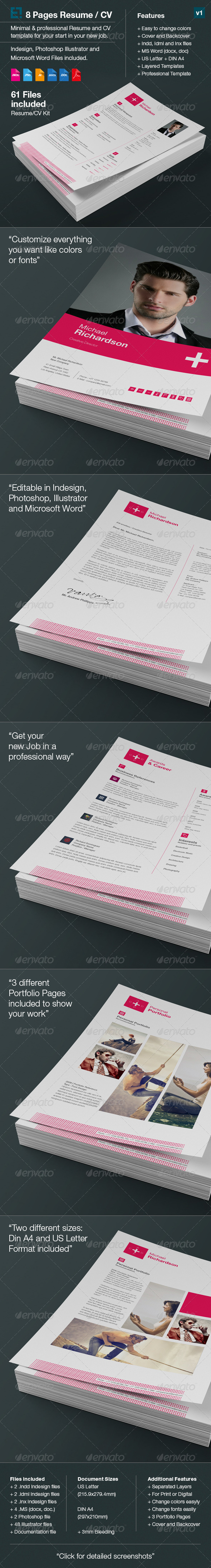 GraphicRiver Swiss Resume CV 6674166