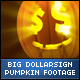 Halloween DollarSign Face Big Pumpkins - VideoHive Item for Sale