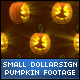 Halloween DollarSign Face Small Pumpkins - VideoHive Item for Sale