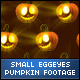 Halloween Egg eyes Face Small Pumpkins - VideoHive Item for Sale