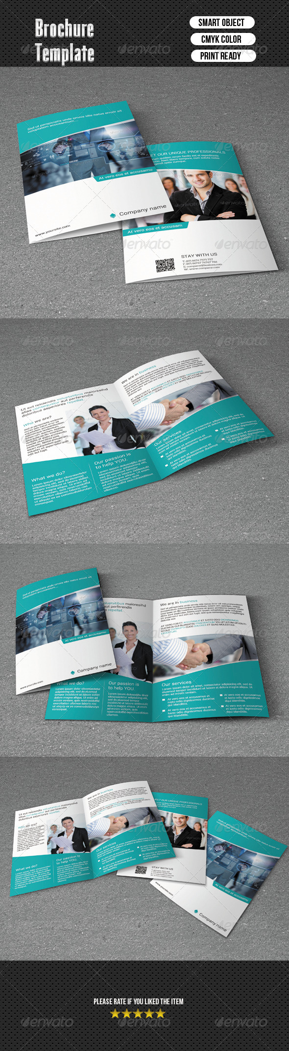 GraphicRiver Bifold Brochure-Business 6677753