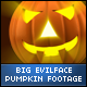 Halloween Evil Face Big Pumpkins - VideoHive Item for Sale