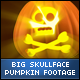 Halloween Skull Face Big Pumpkins - VideoHive Item for Sale