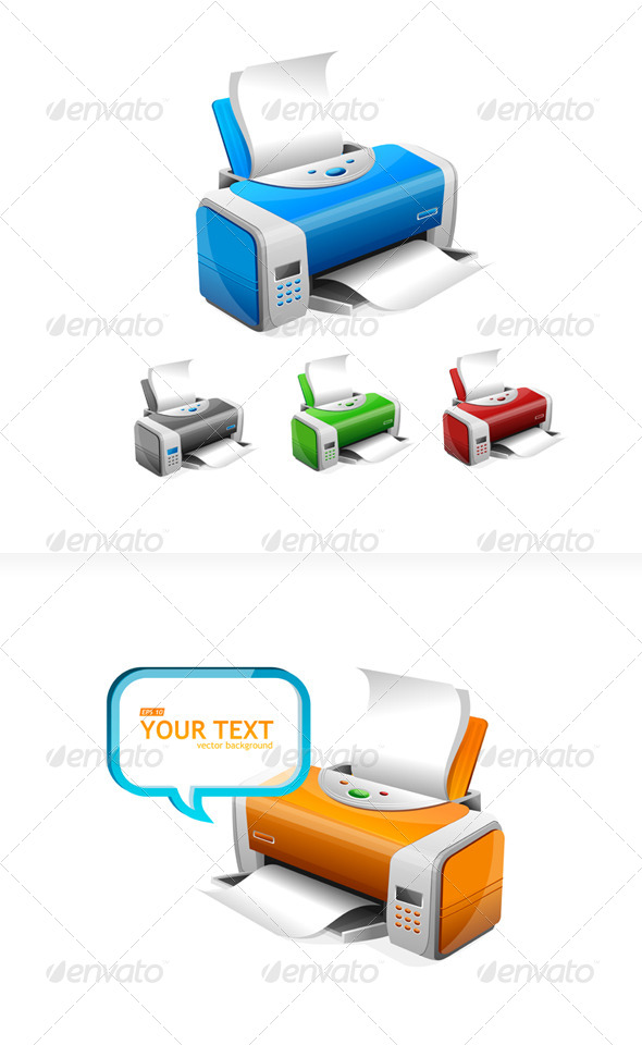 GraphicRiver Printers 6677847
