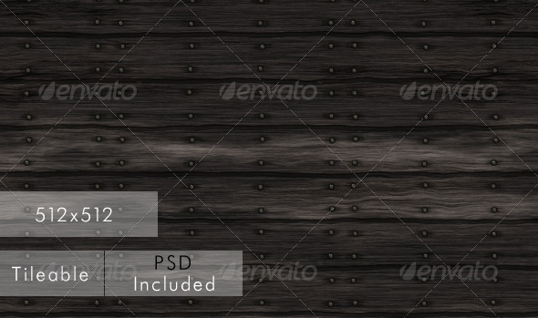 3DOcean Black Wood CG Texture 699468