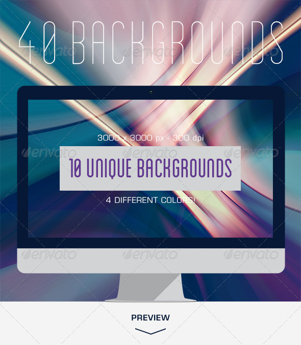 GraphicRiver 40 Colorful Lines Backgrounds 6678619
