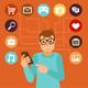 Social Media Addiction - GraphicRiver Item for Sale